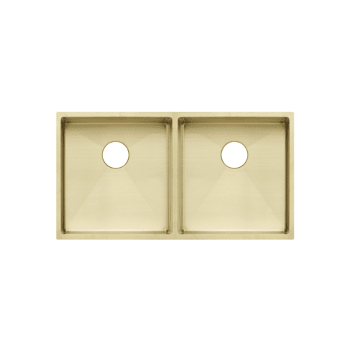brass kitchen sink