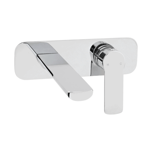 Alano Wall Mounted Mixer - Chrome