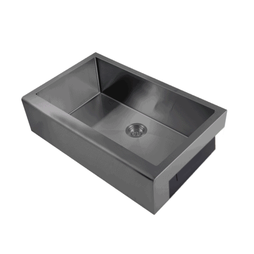 gunmetal kitchen sink
