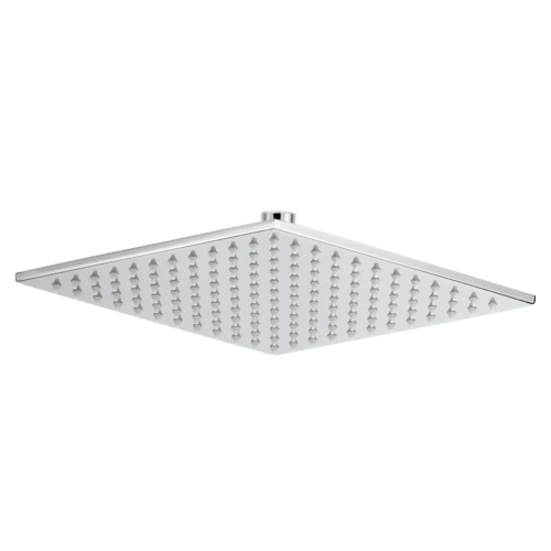 Cara Square Shower Head 250mm - Chrome