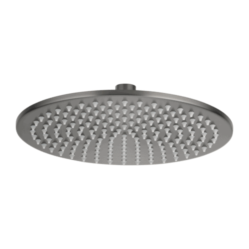 Dana Round Shower Head 250mm - Gun Metal