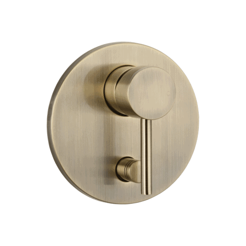 Elysian Shower Diverter - Brushed Brass