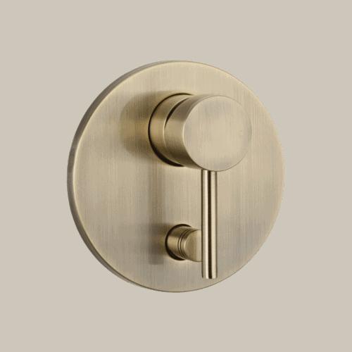 Elysian Shower Diverter - Brushed Brass