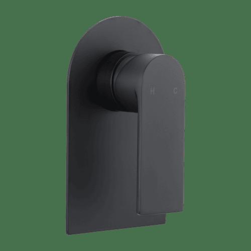 Magnus matte black tapware