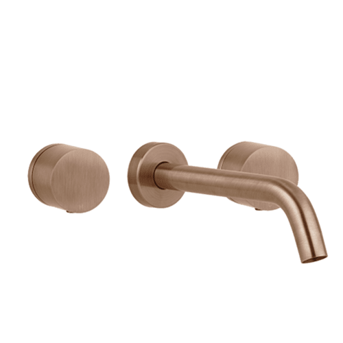 Milani Assembly Taps & Spout Set - Brushed Copper