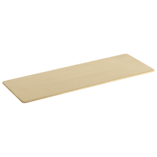 Vaada Extended Shower Shelf Soap Dish 440mm - Brass