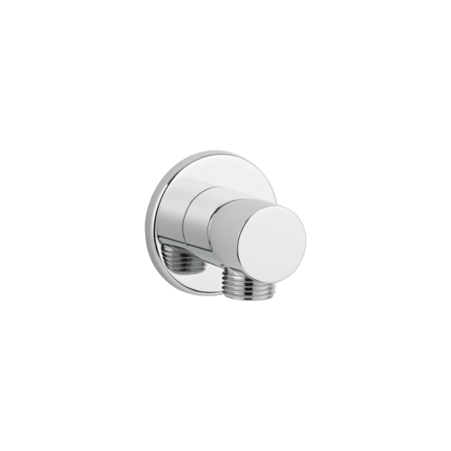 Zana Round Shower BP - Chrome
