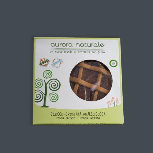 Ciocco crostata albicocca senza glutine e senza lattosio aurora Naturale