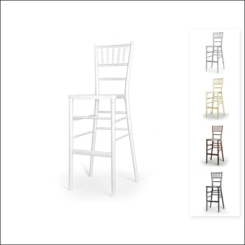 Chivari Bar Height Chair F-S-C-006-WHT