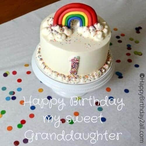 Happy Birthday my sweet Granddaughter