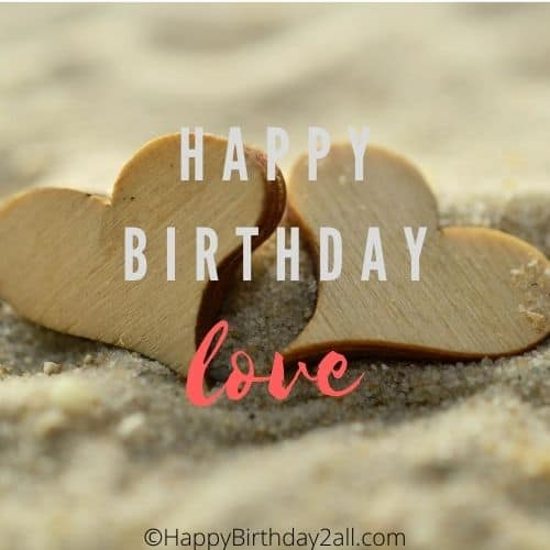 happy birthday love quotes for her