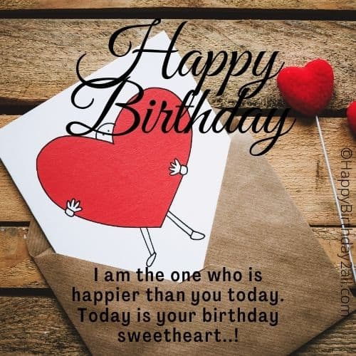 happy birthday love quotes for him