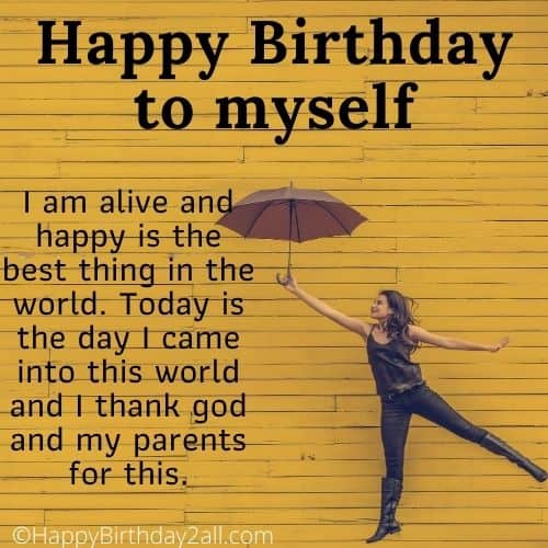 Happy Birthday to myself
