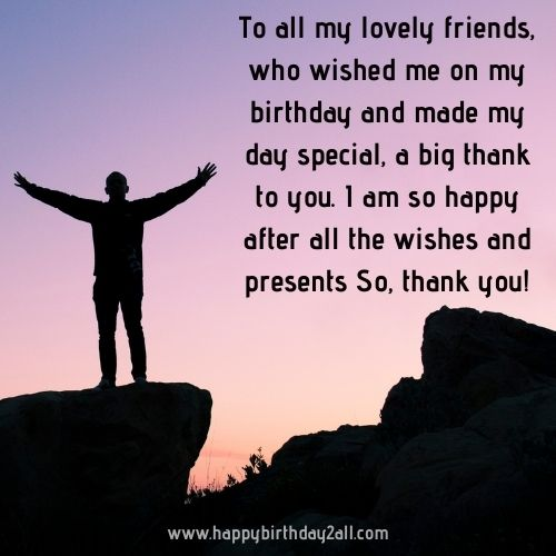 thank you birthday wishes