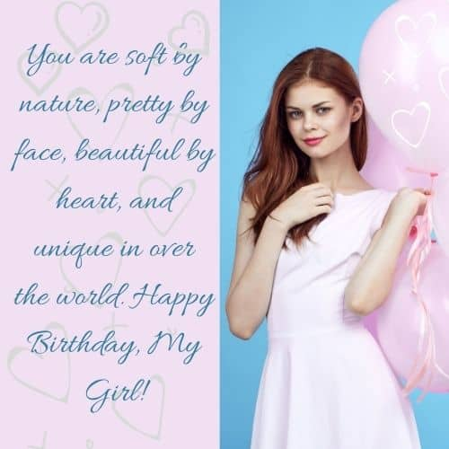 special birthday greetings for women