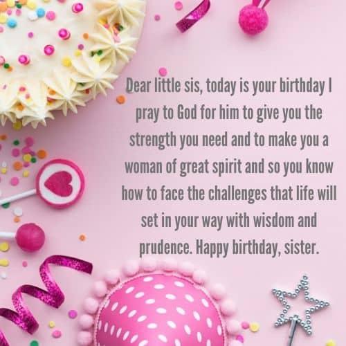 happy birthday little sister