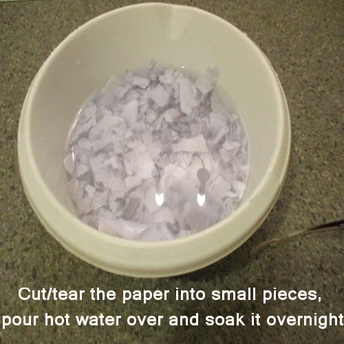 make paper clay without joint compound