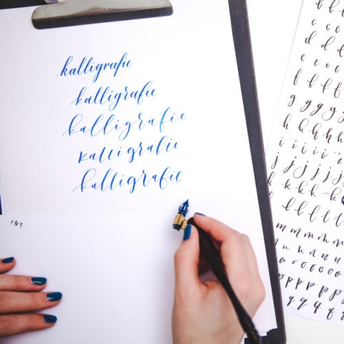 Kalligrafie online cursus