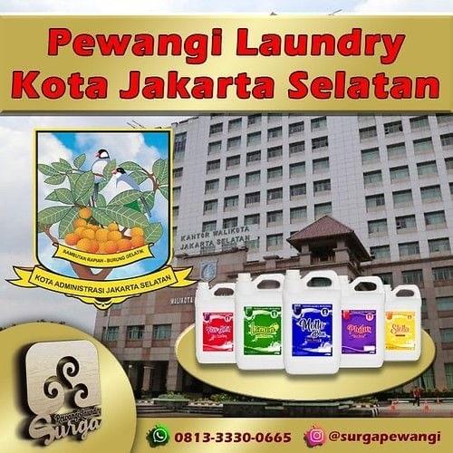 Pabrik Pewangi Laundry Jakarta