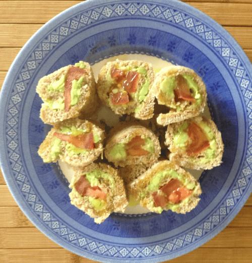 Breakfast ideas - Avocado rolls