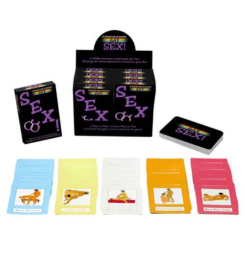 Gay Sex: The Card Game