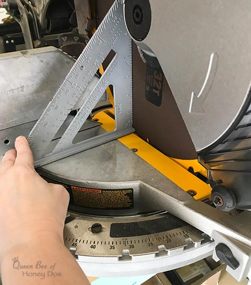 Miter Saw Maintenance for Accurate Cuts - How to eliminate bad cuts that make your woodworking and DIY projects turn out just a bit off.