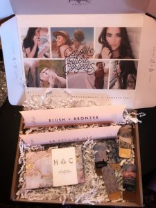 package of Maskcara makeup