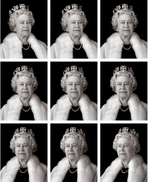 The Queens Portrait by Chris Levine