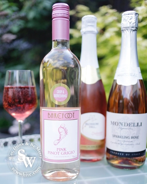 barefoot rose in the Rose wines for summer round up