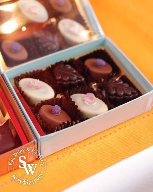 Handmade chocolates