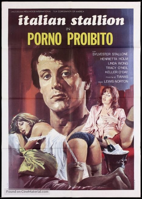 the-party-at-kitty-and-studs-italian-movie-poster