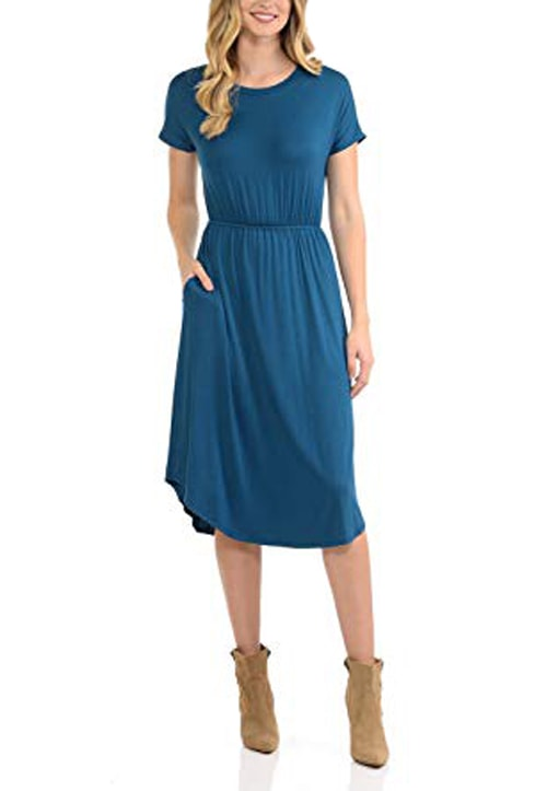 Travel dress for plane journeys | 40plusstyle.com
