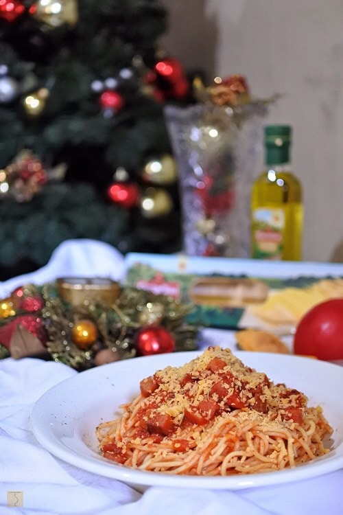 Contadina Holiday Spaghetti