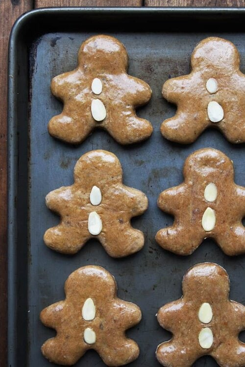 Lebkuchen - German GIngerbread Cookies