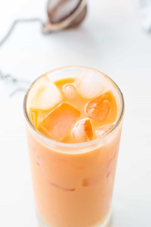 Thai Milk Tea with Ice