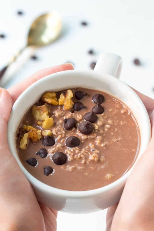 Overnight Oats with Chocolate