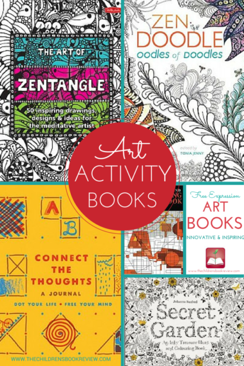 5 Art Activity Books for Kids that are Meditative, Innovative, and Inspiring-2