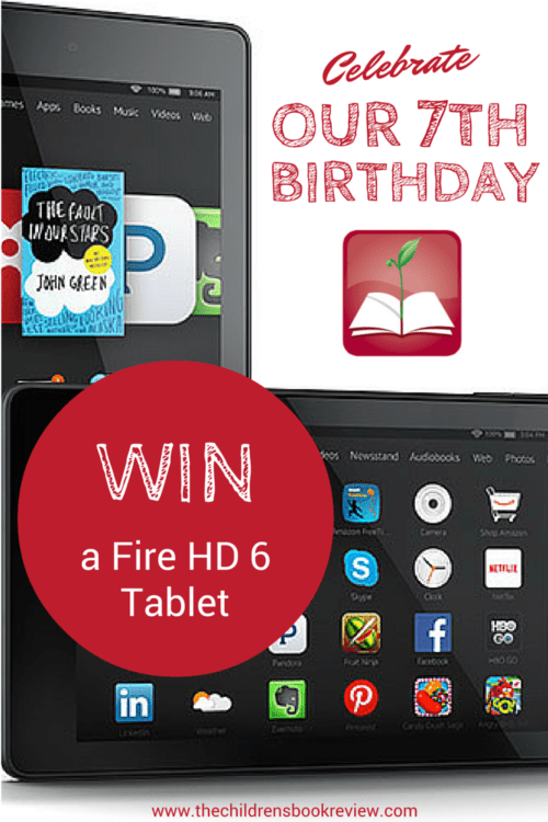 Win a Fire HD 6 Tablet | 7th Anniversary Giveaway