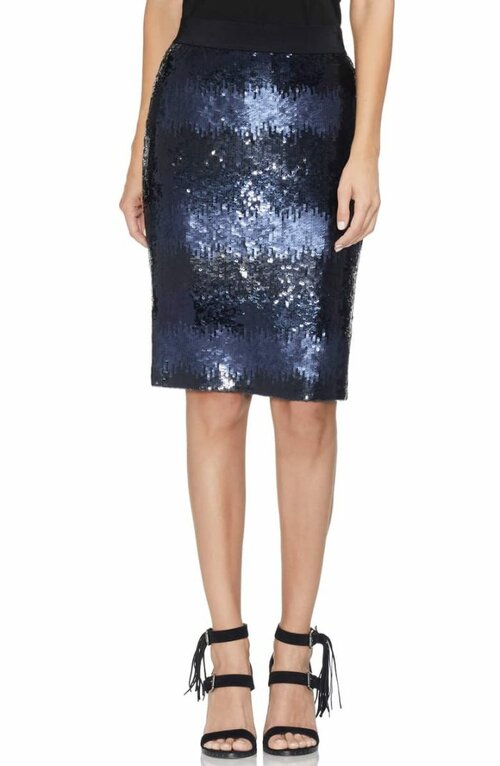 Sparkly skirts and how to wear them | 40plusstyle.com