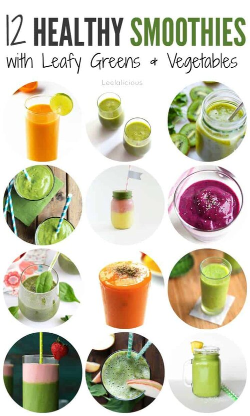 12 Best Healthy Smoothie Recipes