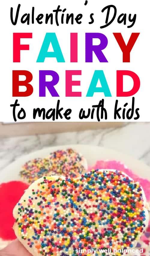 Easy Valentine's Day Fairy Bread