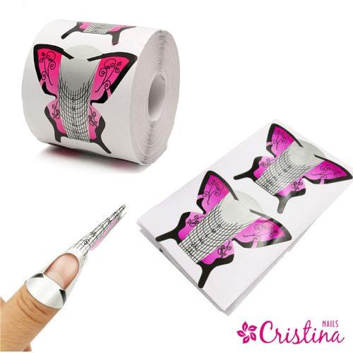 формы для ногтей бабочки 3