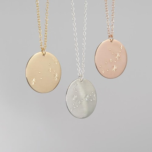 Meaningful gifts - AbbeyPark zodiac constellation necklace | 40plusstyle.com