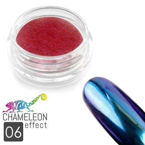 efekt kameleona na paznokciach nr 06