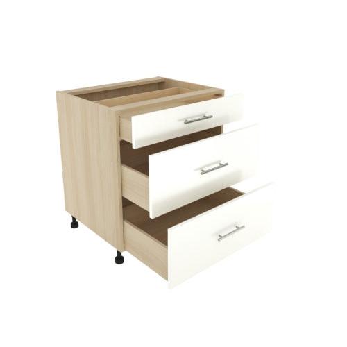 Base 3 Drawer Cabinet