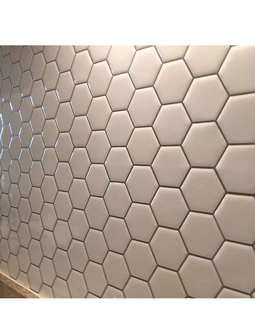 hexagon wall tile sticker