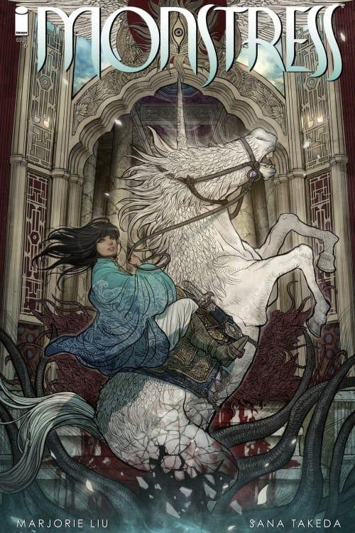 Monstress, Unicorns, Marjorie Liu, Sana Takeda, Image Comics, Eisner Winner