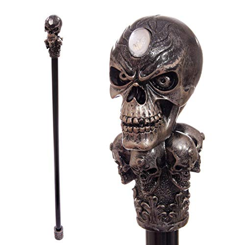 baston con calavera