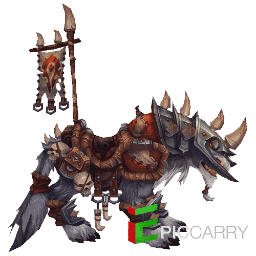 Horn of the Vicious War Wolf
