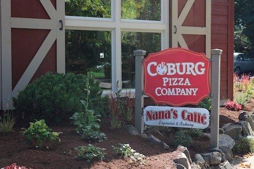 Digital Pizza Menu - Stream Case Study - Coburg Pizza - Sign